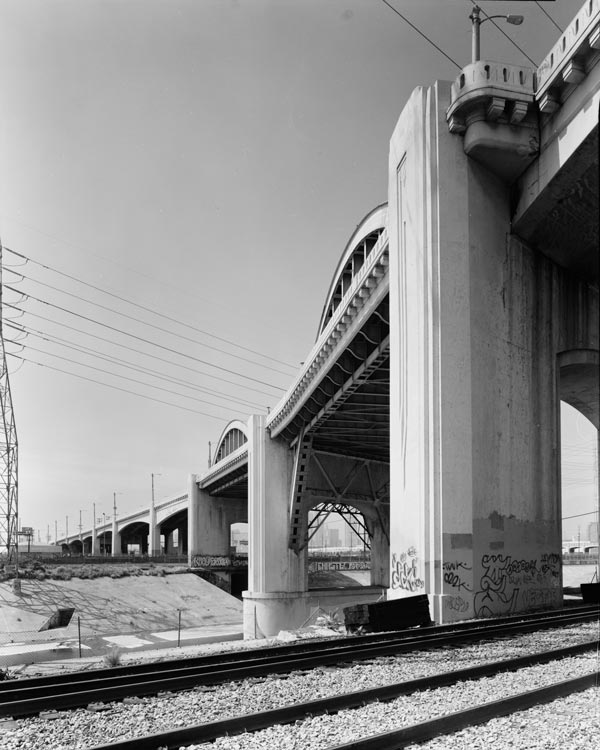 The Sixth Street Viaduct, also known as the Sixth Street Bridge, is a viaduct bridge that connects the Arts District in Downtown Los Angeles with the Boyle Heights neighborhood.