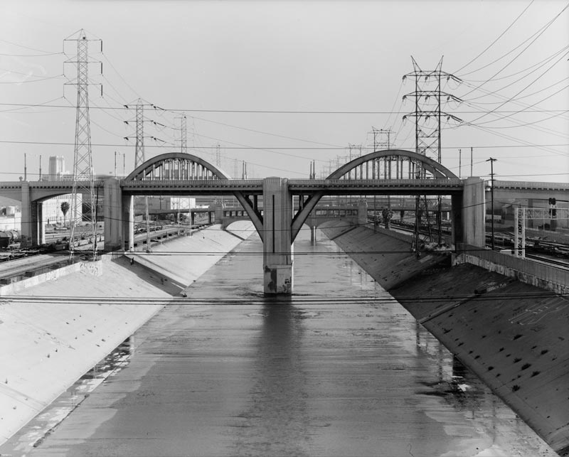 During the construction of the viaduct in the 1930s, an onsite plant was used to supply the concrete for construction.