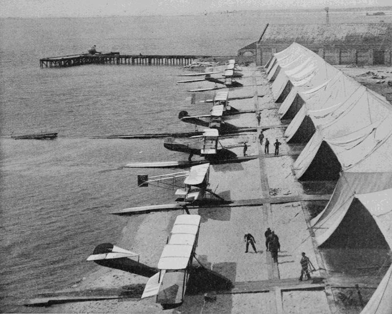 NAS Pensacola was the first Naval Air Station commissioned by the U.S. Navy in 1914.