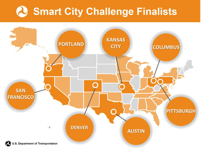 The Smart City Challenge is a $50 million, winner-take-all competition created by the USDOT in order to catalyze a transformational change in urban mobility.