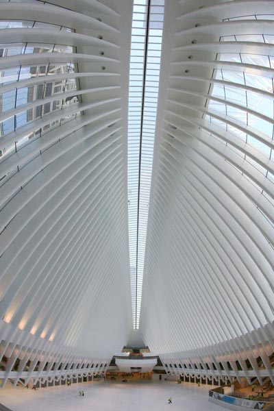 Nearly four billion dollars and twelve years later, the World Trade Center Transportation Hub is the third largest transportation center in New York City, with upwards of 250,000 daily commuters and millions of annual visitors.