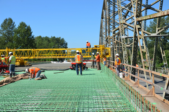 One of the biggest benefits of the project is the economy boost; hundreds of jobs have been created as a result of the bridge construction and update, bringing in more revenue for the cities.