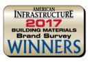 2017 American Infrastructure Building Materials Brand Preference Survey Winners