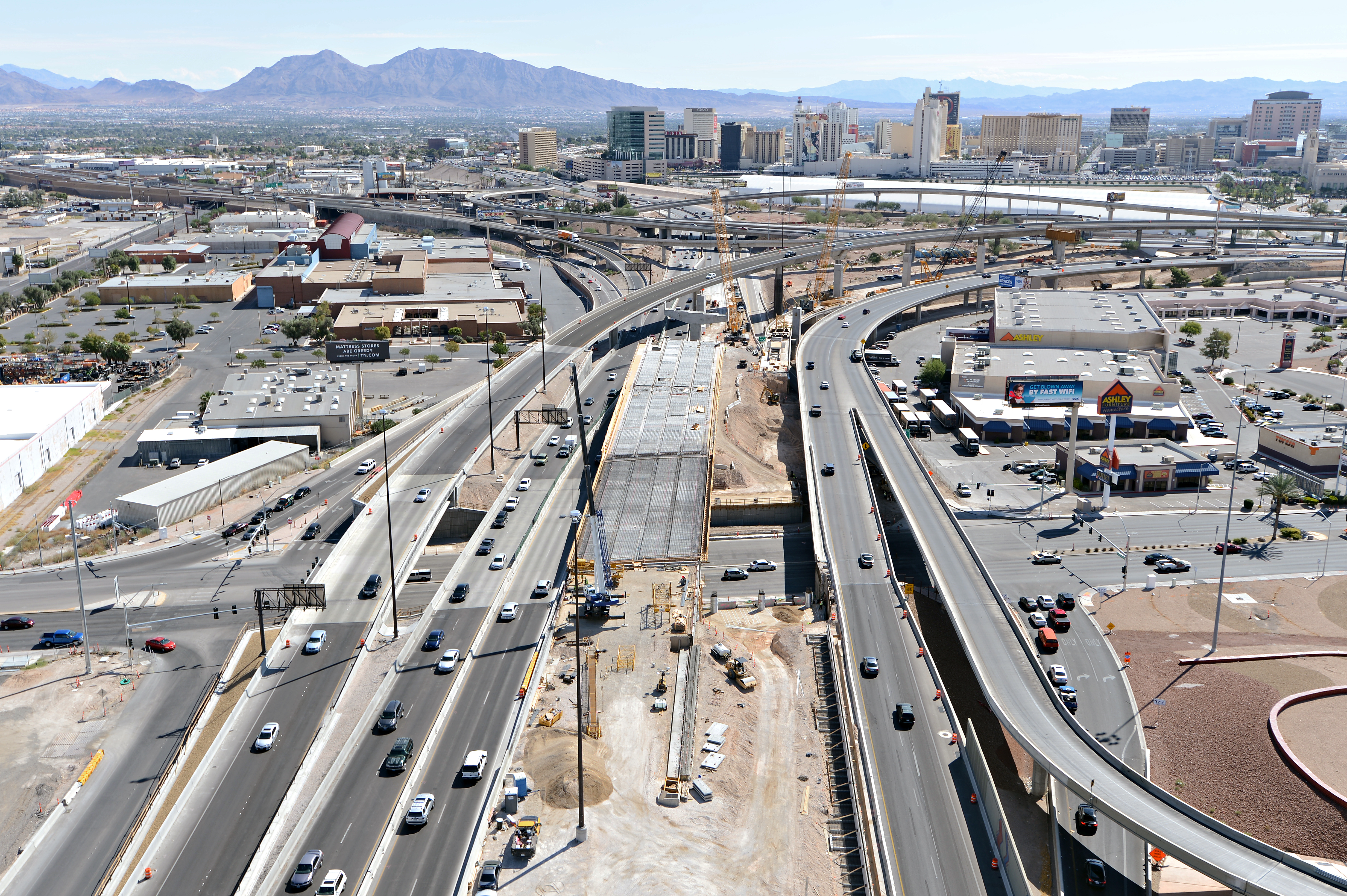 Project Neon Is Nevada S Largest Public Works Project American