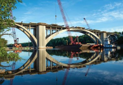 Franklin Avenue Bridge, History in the Remaking