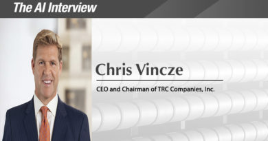 The A.I. Interview: Chris Vincze, CEO and Chairman of TRC Companies, Inc.