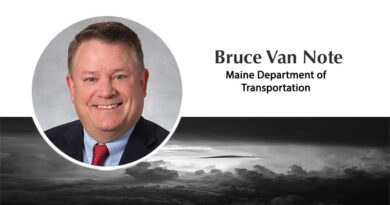 bruce van note, commissioner of the maine department of transportation