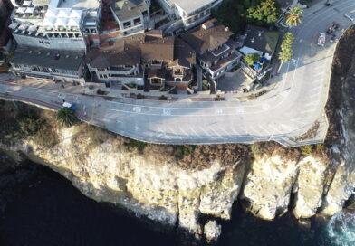 Sea Cave Stabilization Project location